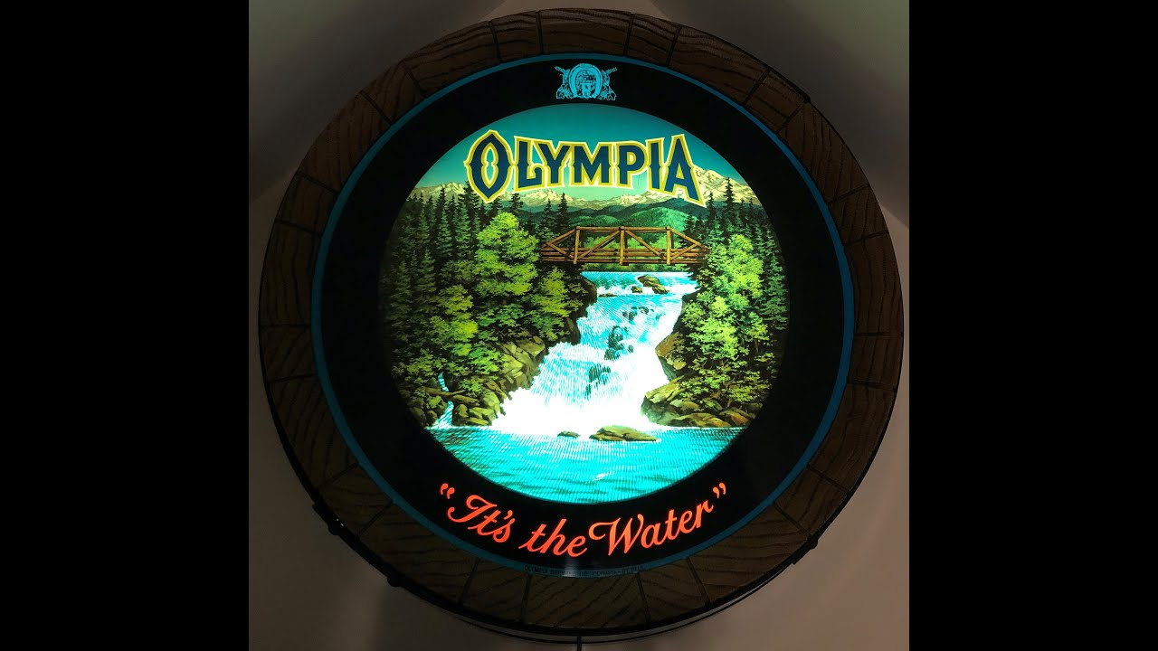 Sign olympia beer Olympia Beer