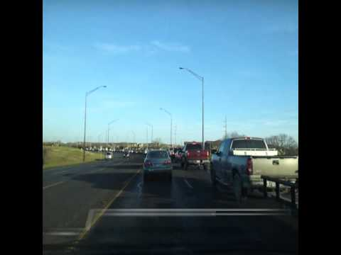 Rush hour at FM2818 Harvey Mitchell Parkway, College Station TX. One of the most congestion roads