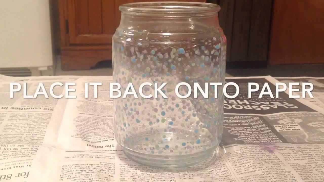 how to make diy fairy glow jars