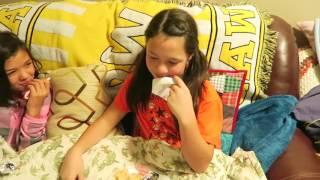 EPIC TEEN AND TWEEN SLEEPOVER PARTY   PILLOW FIGHT & MESSY MAKEUP CHALLENGE