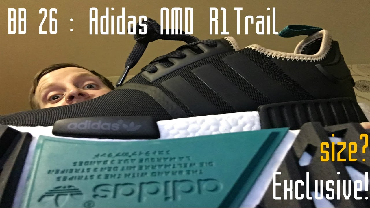 adidas NMD R1 Trail military green shoes AW LAB