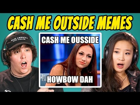 Thumbnail: COLLEGE KIDS REACT TO CATCH ME OUTSIDE MEME COMPILATION (Cash Me Ousside How Bow Dah)