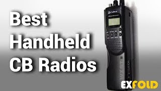 5 Best Handheld CB Radios with Review & Details - Which is the Best Handheld CB Radio? - 2019