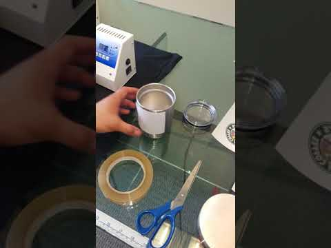 How to Apply NoWeed Hard Surface to Stainless Steel Yeti
