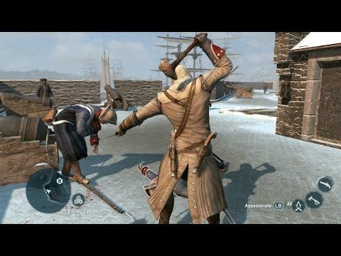 Assassin's Creed 3 Achilles Outfit & Stone Tomahawk ( New York Combat & Parkour )