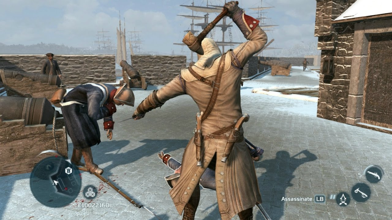 Assassin S Creed 3 Achilles Outfit Stone Tomahawk New York