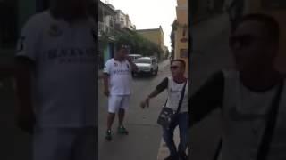 Yorday Martinez y JhonxiTho Acevedo freestyle en calles de Cartagena, Colombia.