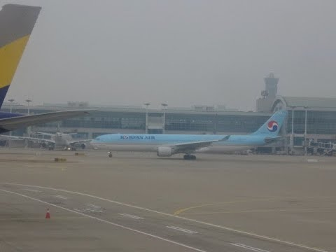 Korean Air Boeing B777 - Singapore Changi to Seoul Incheon Airport