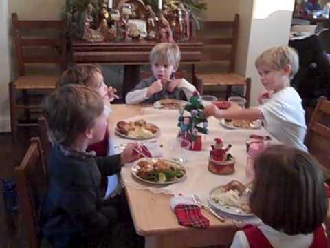 McAfee Family Christmas 2009 - Kids