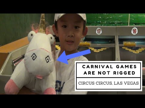 Are Carnival Games Rigged??? |