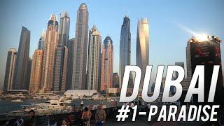 WELCOME TO PARADISE! - Dubai Vlog #1