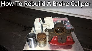 How To Rebuild A Fr๐nt Brake Caliper - Complete Guide