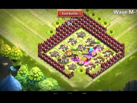 Castle Clash [TH 14 Corner Base HBM M]