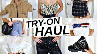 HUGE TRY ON HAUL! i did a LOT of shopping