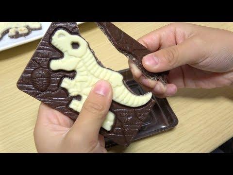 キャラパキ 発掘恐竜チョコ Dinosaur Fossil Chocolate
