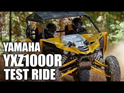 TEST RIDE: Yamaha YXZ1000R