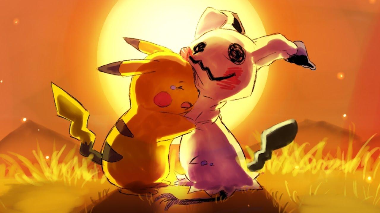 Cute Pkachu Wallpapers La Historia De Mimikyu Youtube