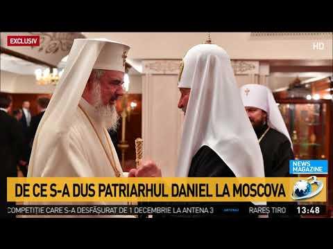 Patriarhul Daniel, primele imagini de la Moscova