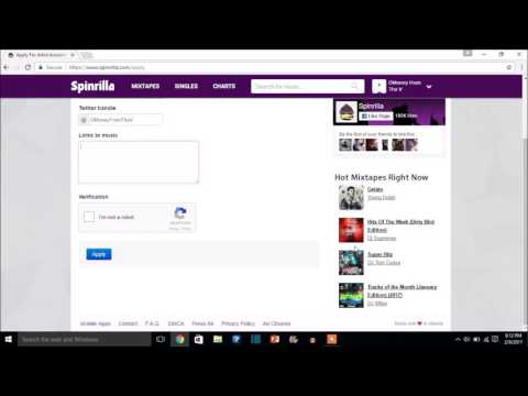 How To Upload Your Music To Spinrilla For Free