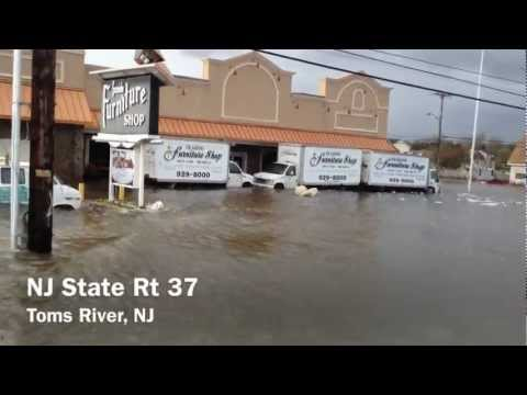 HURRICANE SANDY - Toms River