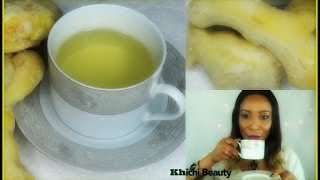 Why We Should Be Drinking A Cup Of Ginger Tea Everyday   6 Reasons  To Drink Ginger    Khichi Beauty