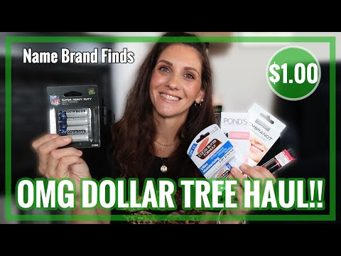 💚 DOLLAR TREE HAUL **HUGE NAME BRAND ITEMS FOUND For $1.00!