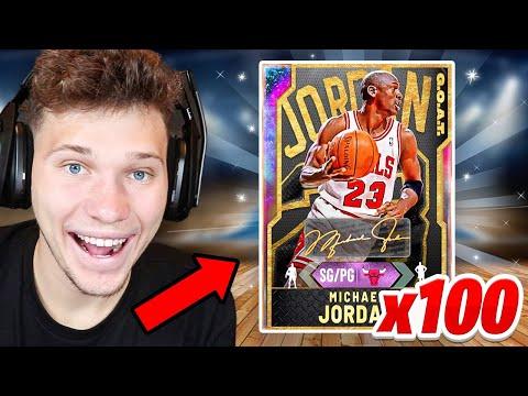 I Pulled 100 Galaxy Opals – NBA 2K20