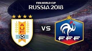 FIFA World Cup 2018 - Uruguay vs France - 06/07/2018