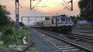 GOLDEN HOUR MOMENT AFTER LONG TIME GAP MAINLINE KING BACK TO ACTION : INDIAN RAILWAYS
