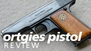 Review: the Ortgies pistol in 32acp