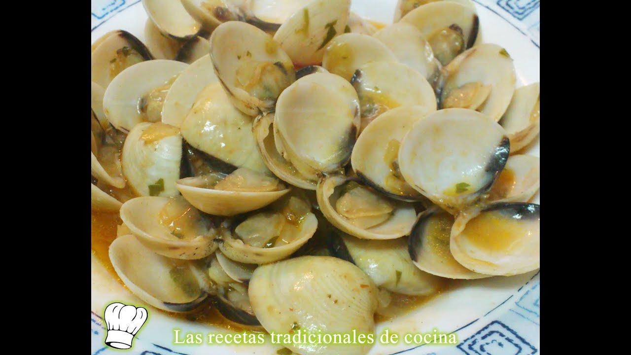 receta r pida de almejas a la marinera youtube