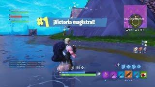 Fortnite_ ganamos una de 100 trio vs SQUAT