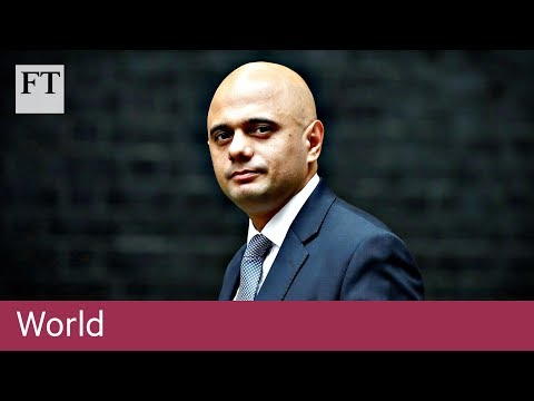 Sajid Javid appointed British home secretary