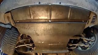 bMW 528 изготовление защиты картера двигателя