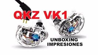 QKZ VK1 Unboxing e impresiones