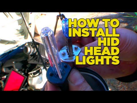 How to Install HIDs