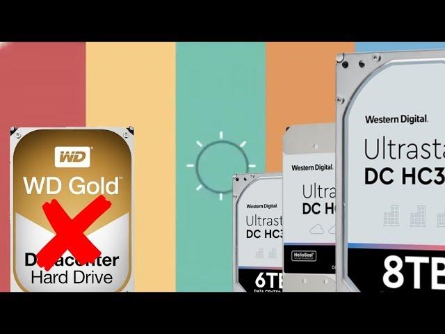 Wd Gold Is End Of Life Alternative Hgst Ultrastar Dc Drive List