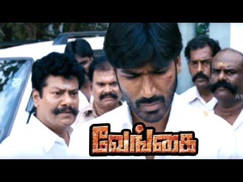 Venghai   Vengai Tamil Movie Scenes   Rajkiran Waits To Take Revenge   Oorvasi Takes Care Of Dhanush