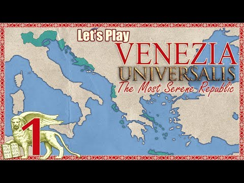 Let's Play Europa Universalis 4 [E01] Venice: An Introduction