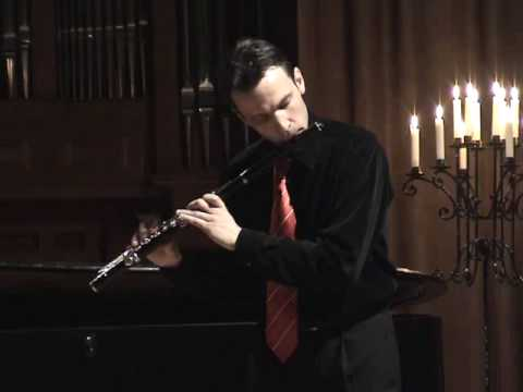 J.S.Bach: Prelude G-major (Cello Suite 1, BWV 1007) - Mate Palhegyi, flute