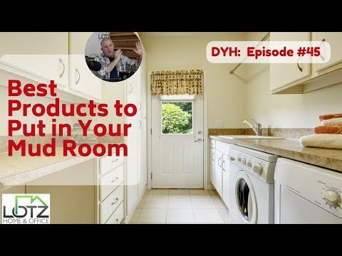 Best Products To Put In Your Mudroom Storage Countertops Flooring