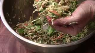 How To Make Asian Cole Slaw Salad