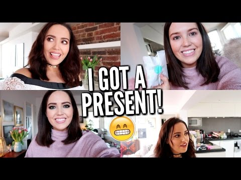 I GOT A PRESENT! 😬 (and the vlogs are BACK!)