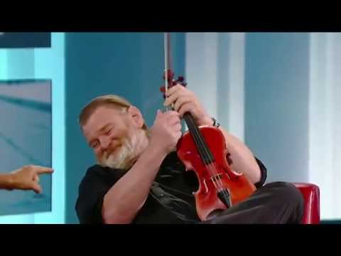 Brendan Gleeson on George Stroumboulopoulos Tonight: