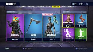 HOLLOWHEAD SKIN! | DAILY ITEM SHOP TODAY! | FORTNITE BATTLE ROYALE (14/10/2018)