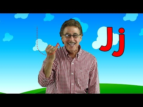 Letter J | Sing and Learn the Letters of the Alphabet | Learn the Letter J | Jack Hartmann