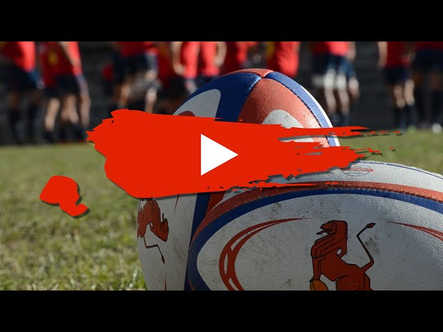 Un balón de rugby sólo te lo puede devolver un compañero