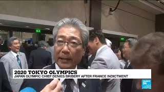 Head of Japan's Olympic Committee indicted in France for corruption