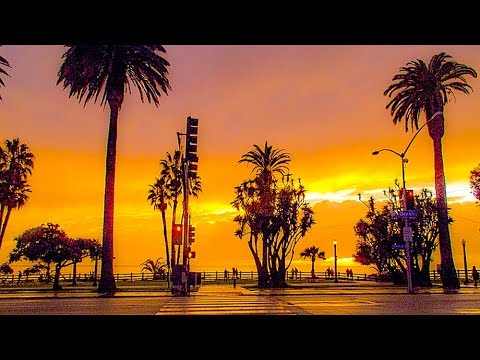 A Walk Around The Intersection of Ocean Ave. & Santa Monica Blvd., Santa Monica