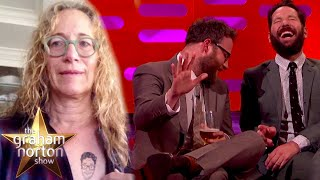 Seth Rogen Can't Stand To Look At His Mother's Fake Tattoo | The Graham Norton Show